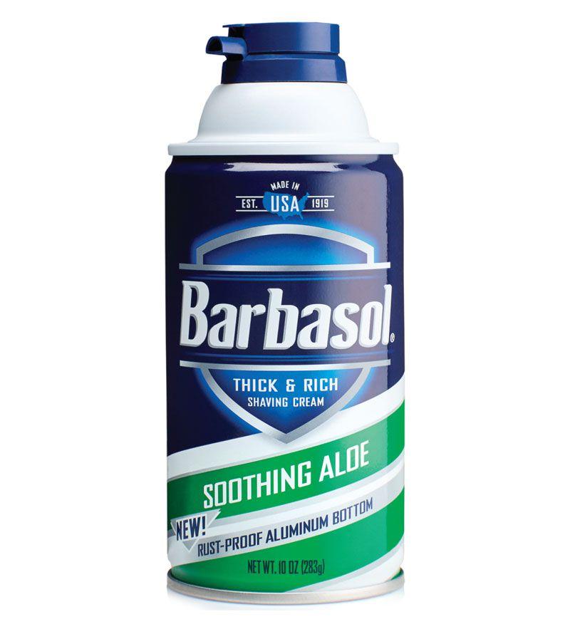 Creme de Barbear / Espuma de Barbear Soothing Aloe Barbasol 283 g