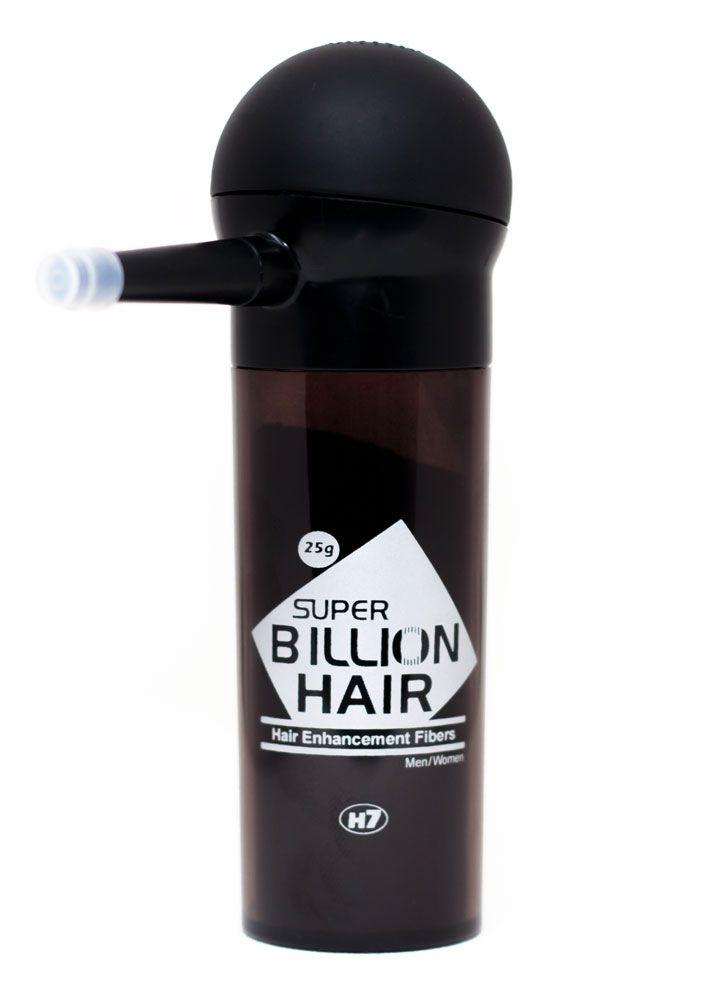 Disfarce para Calvície / Complexo de Fibras de Queratina em Pó Super Billion Hair 25 g Slim + Aplicador