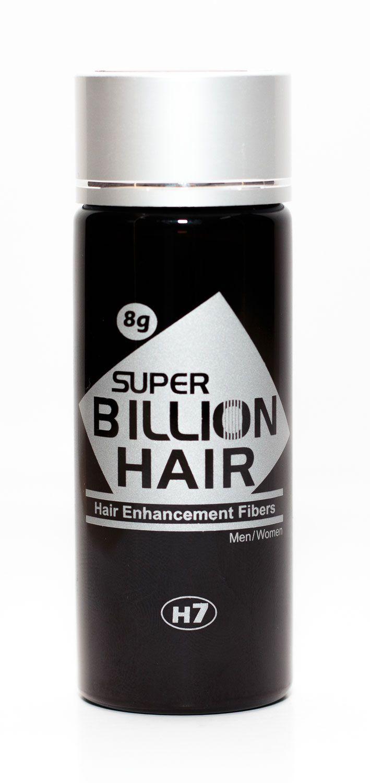 Disfarce para Calvície / Complexo de Fibras de Queratina em Pó Super Billion Hair 8 g