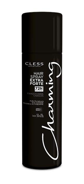 Spray Fixador para Cabelo Extra Forte Charming 50 ml