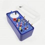 Estojo p/ Autoclavar Limas (36 Instrumentos + Tamborel) - MkLife