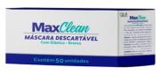 Máscara Descartável Tripla Proteção (C/ 50 Unidades ) - MaxClean