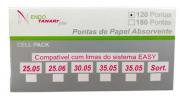 Ponta de Papel Cell Pack Easy (Pro-E) - Tanari