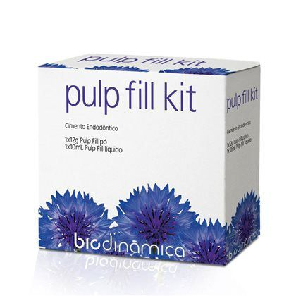 Cimento Pulp Fill Kit - BioDinamica  -  Dental Paiva