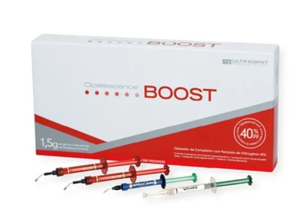 Clareador Opalescence Boost PF Kit - Ultradent  -  Dental Paiva
