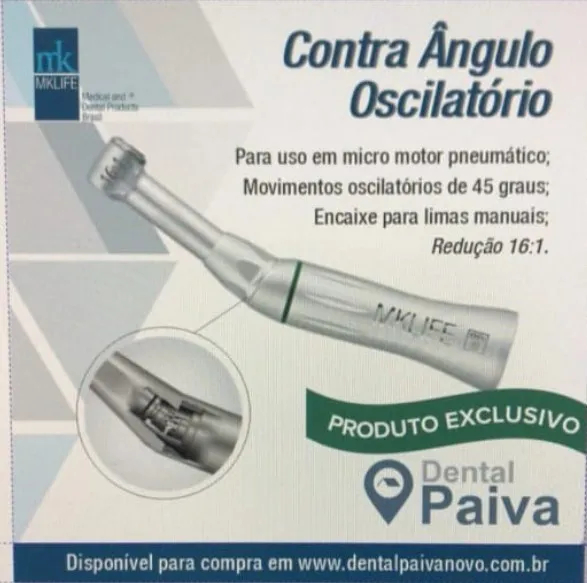 Contra Angulo Oscilatorio 16:1 - MkLife  -  Dental Paiva