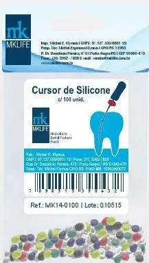 Cursor Stop de Silicone Sortido - MKlife  -  Dental Paiva