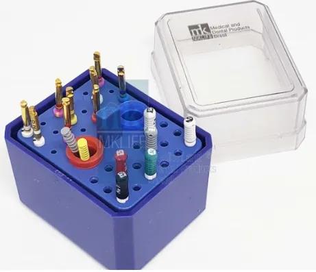 Estojo p/ Autoclavar  ENDO (36 Instrumentos) - MkLife  -  Dental Paiva