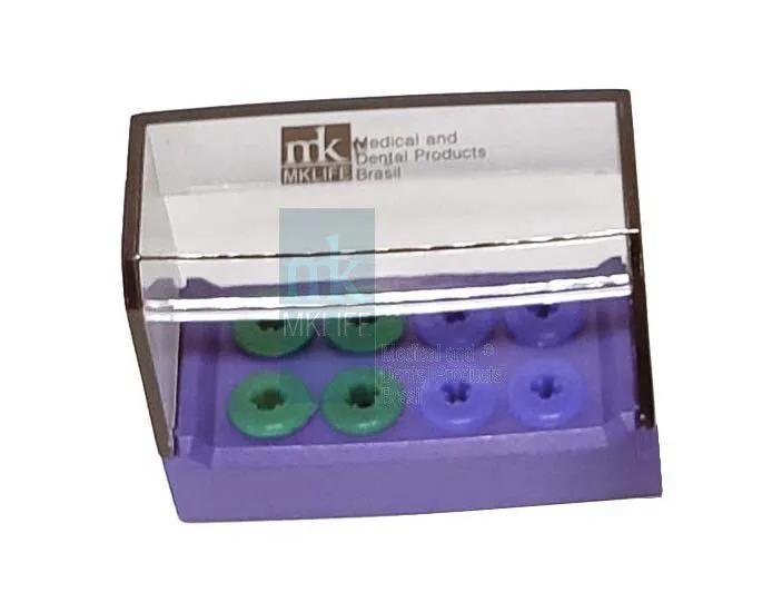 Estojo p/ Autoclavar AR/FG/SU (08 Instrumentos) - MkLife  -  Dental Paiva