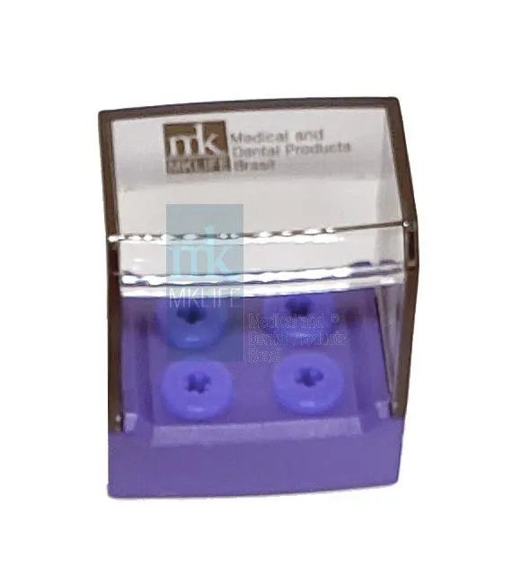 Estojo p/ Autoclavar AR/FG/SU (04 Instrumentos) - MkLife  -  Dental Paiva