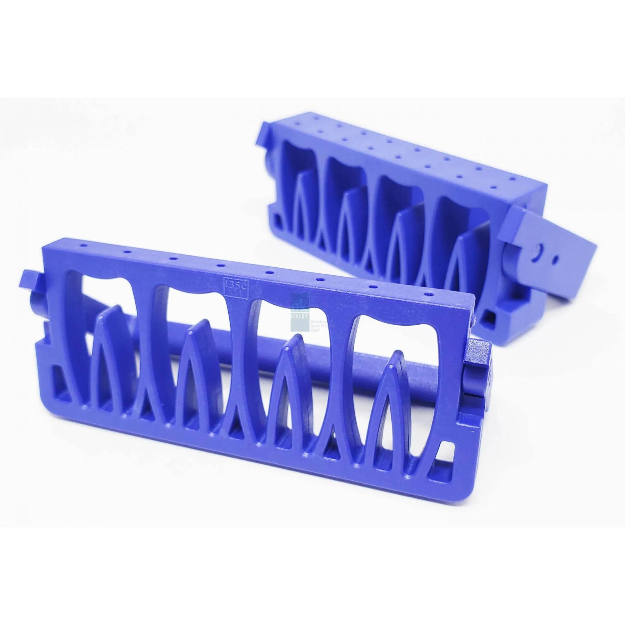 Estojo p/ Autoclavar Limas (08 Instrumentos) - MkLife  -  Dental Paiva