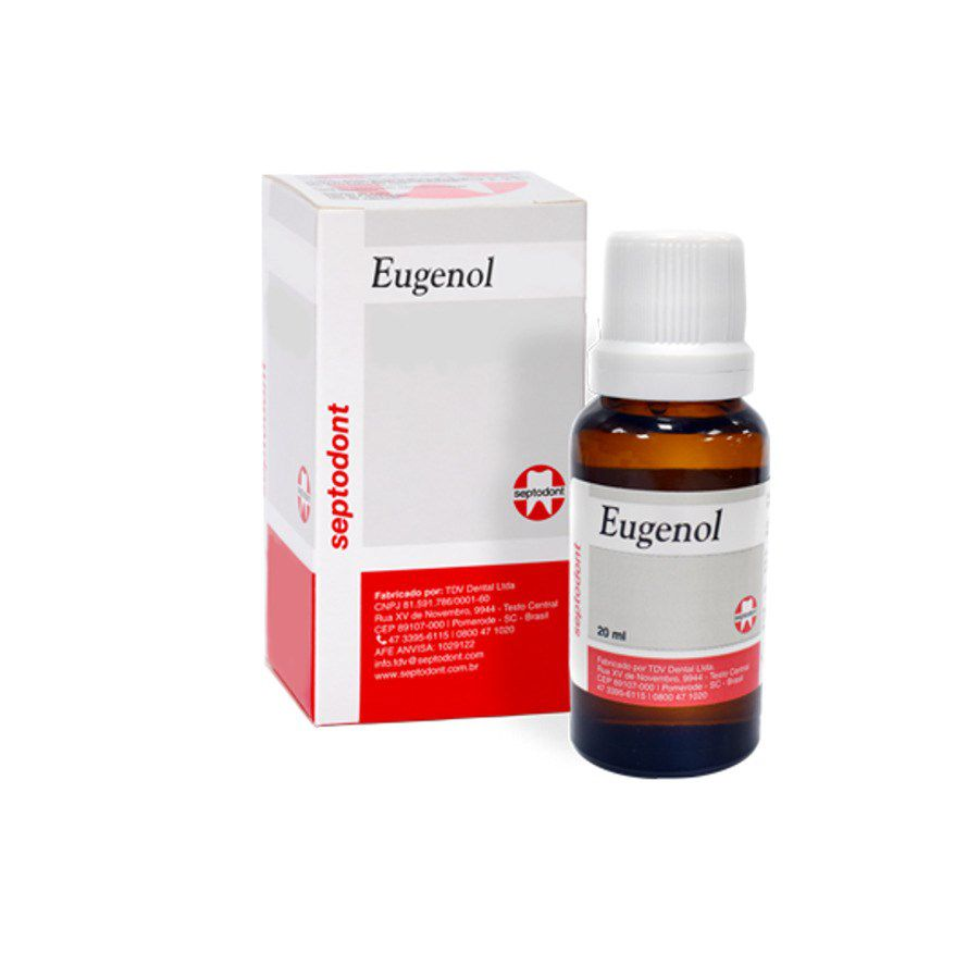 Eugenol (20Ml) - Septodont  -  Dental Paiva
