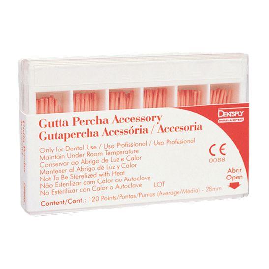 Guta Percha Acessória Maillefer - Dentsply  - Dental Paiva