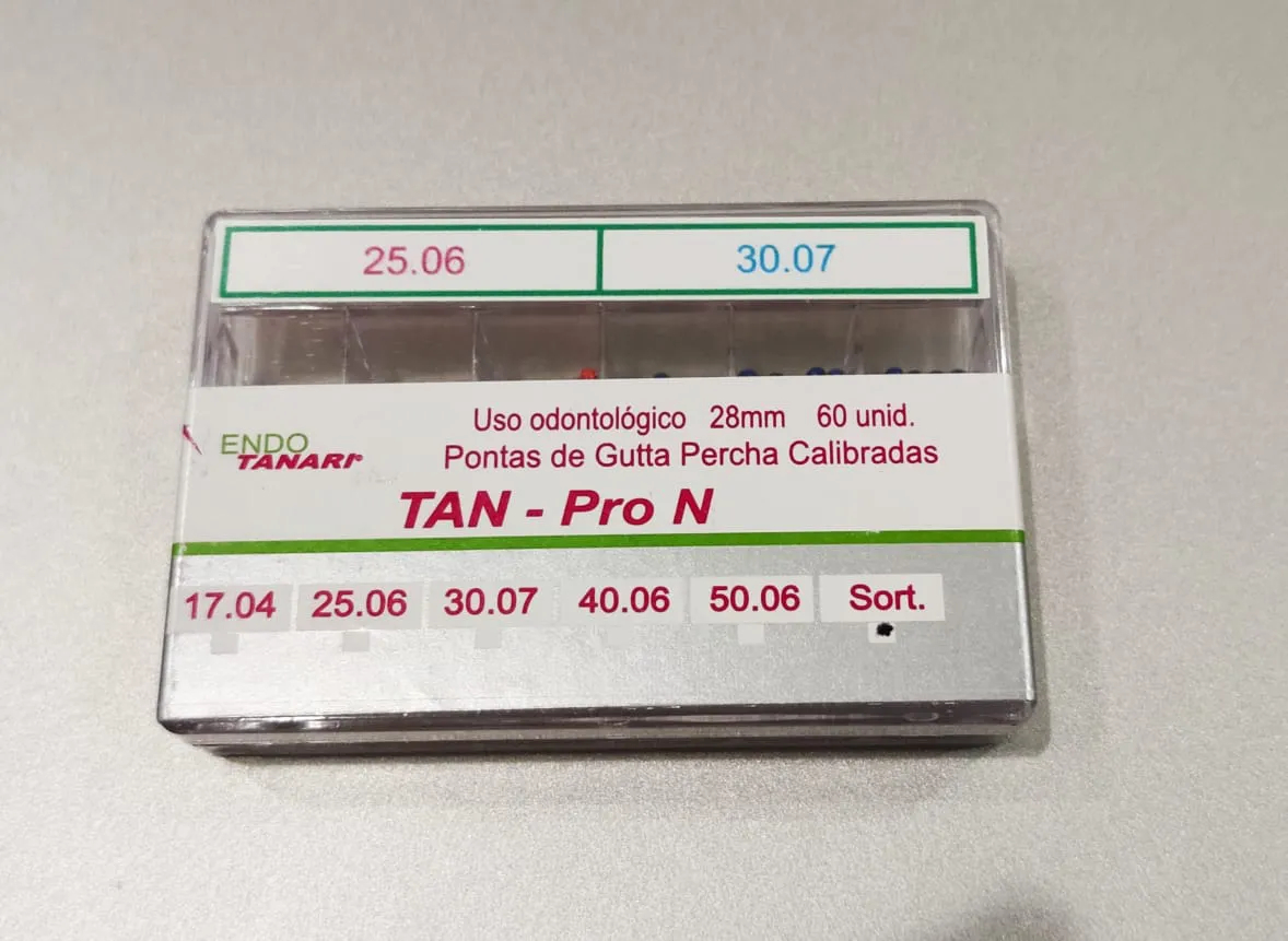 Guta Percha Calibrada Next (Pro-N)  - Tanari  -  Dental Paiva