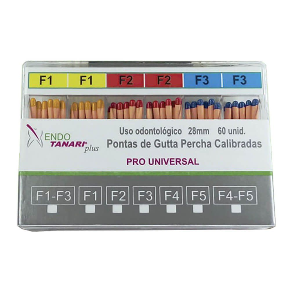 Guta Percha Calibrada Protaper (Pro-U) - Tanari  -  Dental Paiva