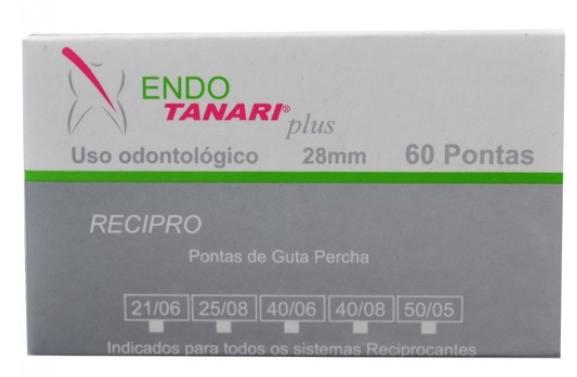Guta Percha Calibrada Reciproc (Pro-R) - Tanari  -  Dental Paiva