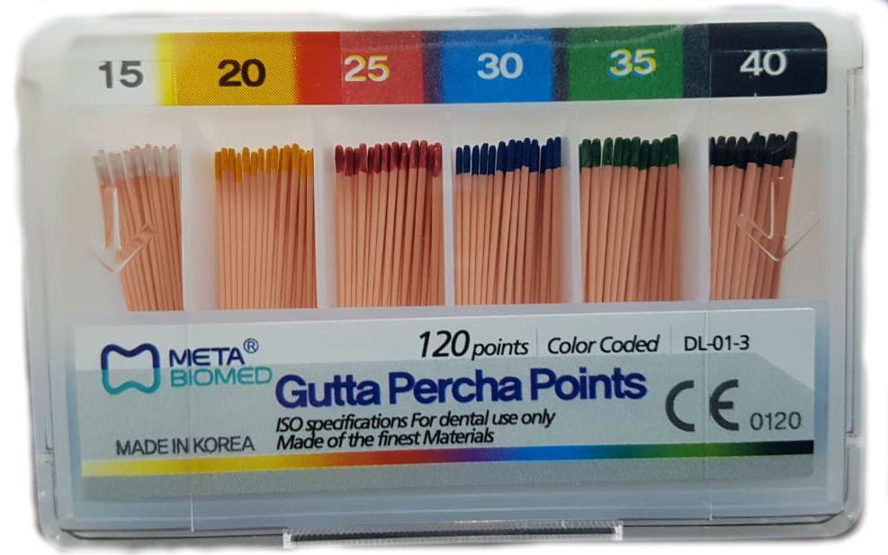 Guta Percha Principal - Meta  -  Dental Paiva