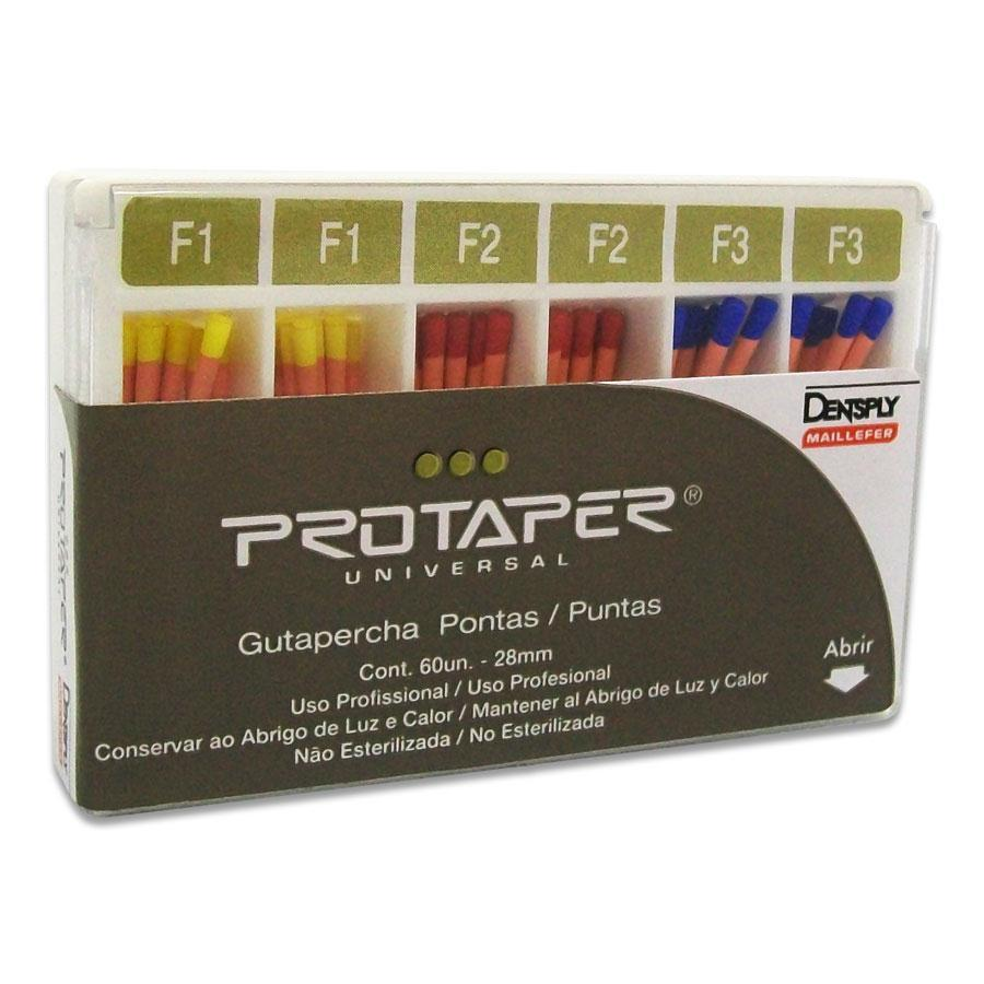Guta Percha Protaper Maillefer - Dentsply  -  Dental Paiva