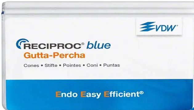 Guta Percha Reciproc Blue - Vdw  -  Dental Paiva