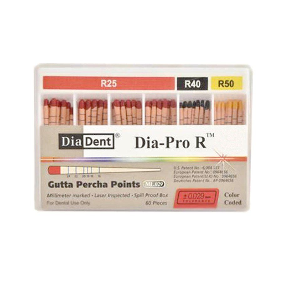Guta Percha Reciproc - Diadent  -  Dental Paiva