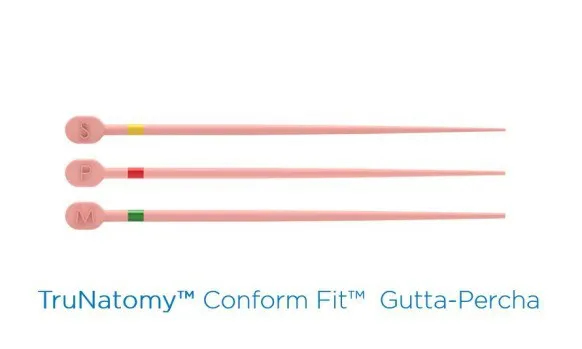 Guta Percha TruNatomy Confort Fit - Maillefer  -  Dental Paiva