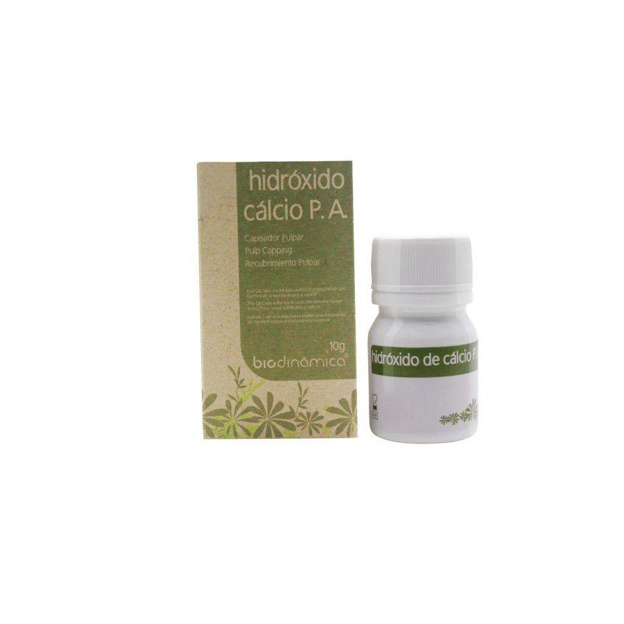 Hidróxido de Cálcio P.A 10G - Biodinâmica  -  Dental Paiva
