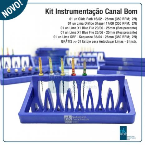Kit Canal Bom com Estojo Autoclavável  MkLife  - Dental Paiva