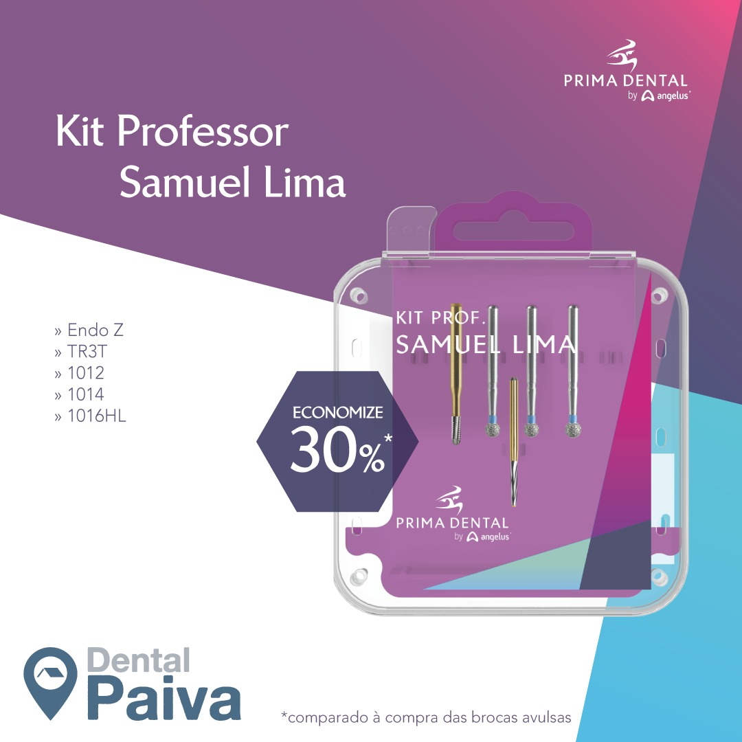 Kit Professor Samuel Nogueira Prima - Angelus  -  Dental Paiva