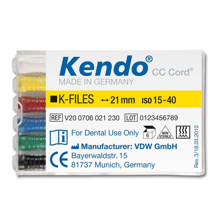 Lima K 1ª Série Kendo - Vdw  - Dental Paiva