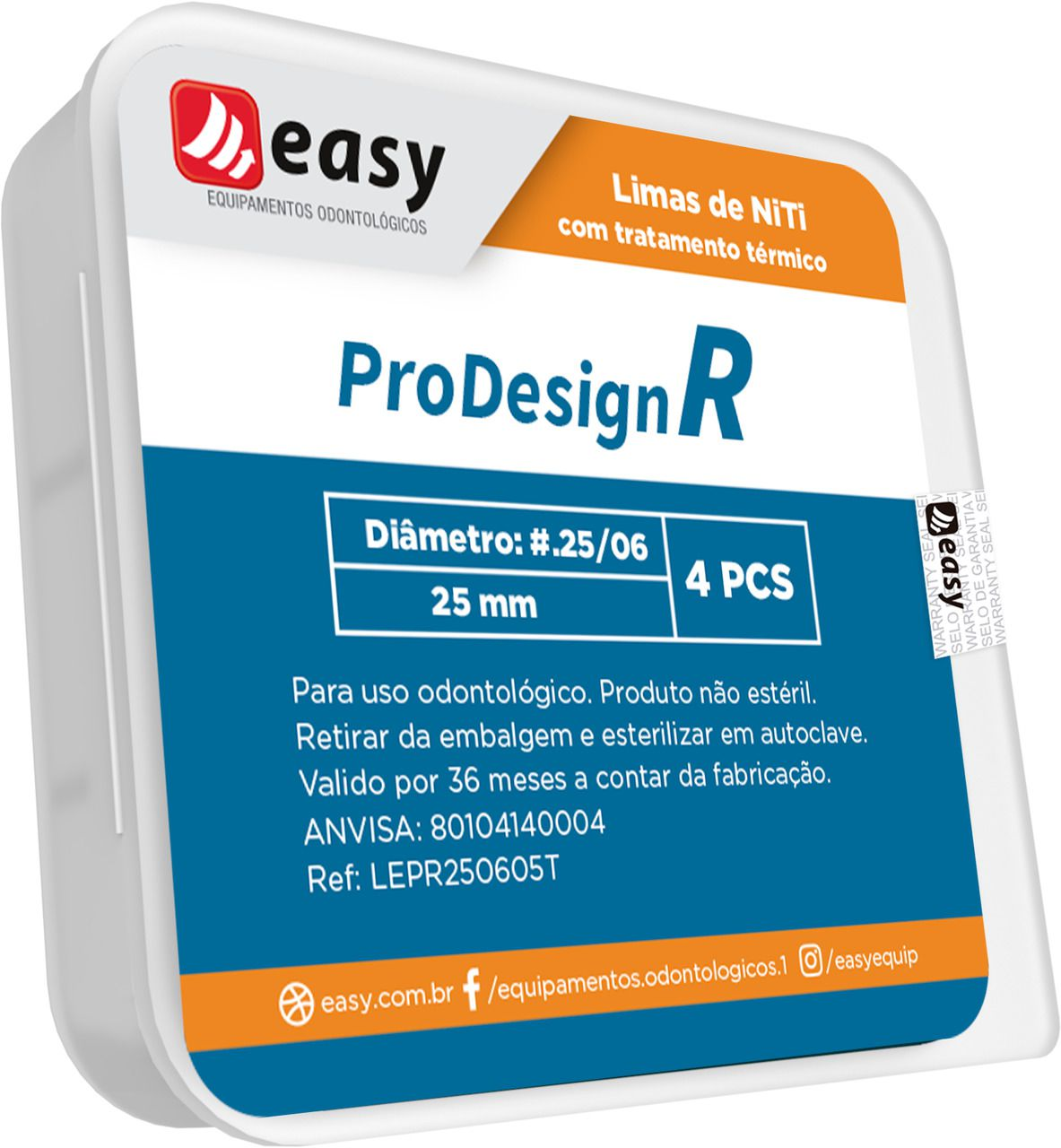 Lima  ProDesign R (C/4 Unidades) - Easy  - Dental Paiva