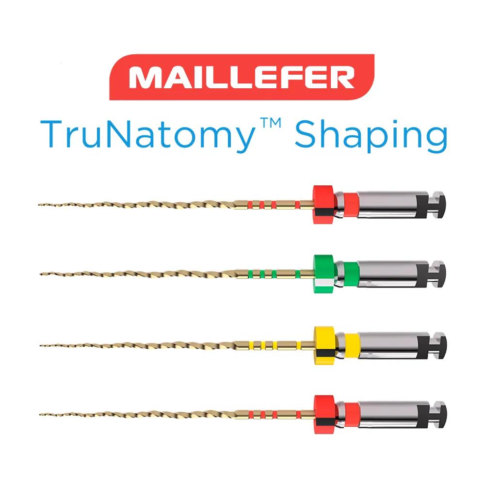 Lima TruNatomy (C/4 Unidades) Maillefer - Dentsply  -  Dental Paiva