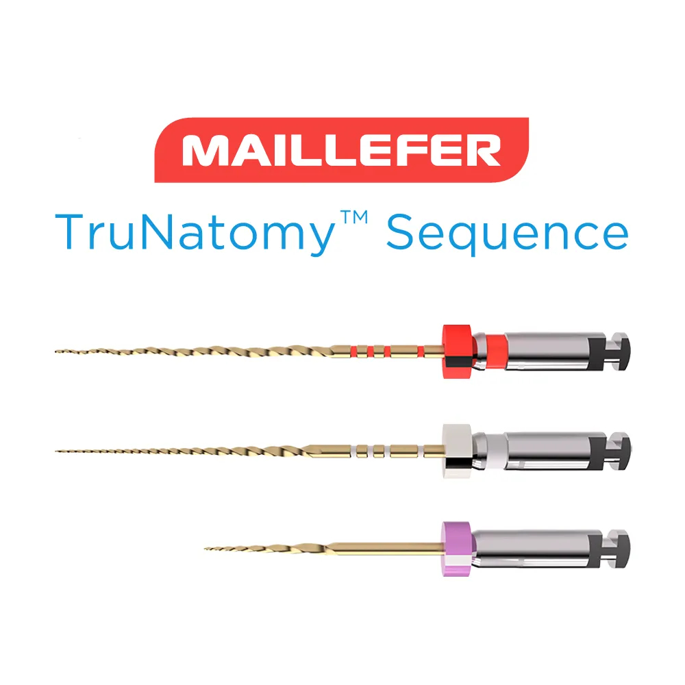Lima TruNatomy Sequence (C/3 Unidades) Maillefer - Dentsply  -  Dental Paiva