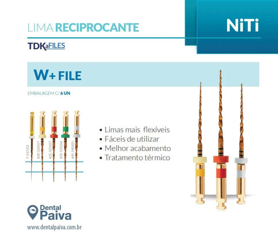 Lima W+ FILE TDK (C/6 Unidades) - Eurodonto   -  Dental Paiva