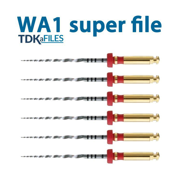 Lima WA1 W-FILE TDK (C/6 Unidades) - Eurodonto  - Dental Paiva