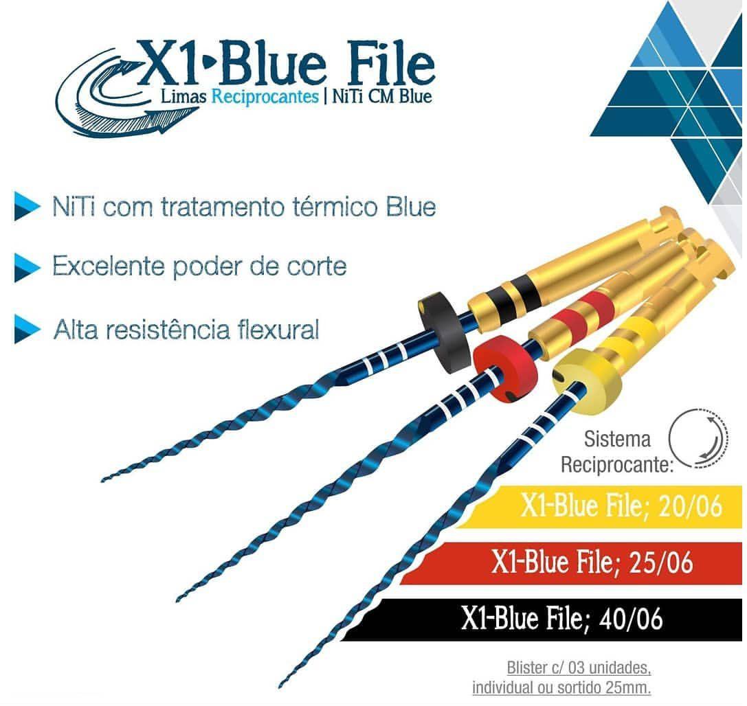 Lima X1-Blue File - MkLife  -  Dental Paiva