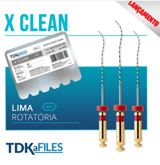 Lima X Clean (C/6 Unidades) - TDK  - Dental Paiva