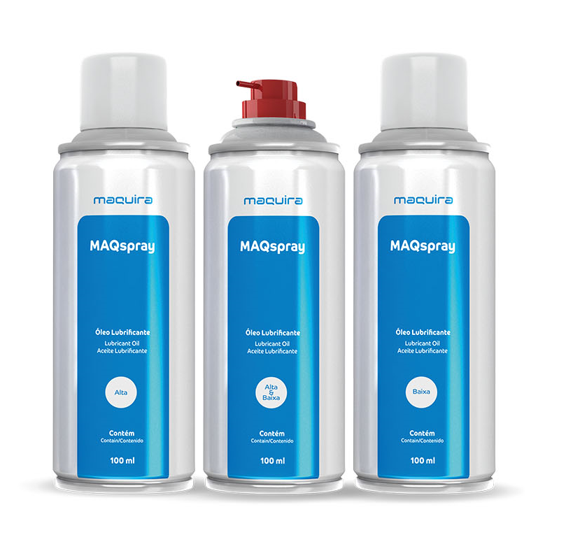 Lubrificante Spray Maqspray 100ML - Maquira  - Dental Paiva