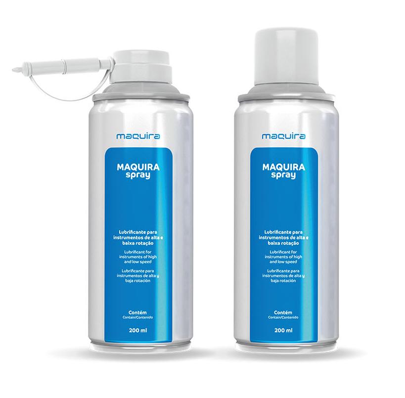 Lubrificante Spray Maqspray 200ML - Maquira  -  Dental Paiva