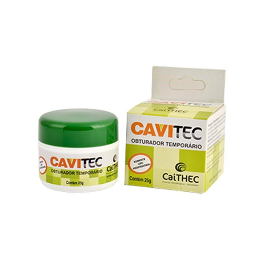 Obturador Provisorio Cavitec (25G) - Caithec  -  Dental Paiva