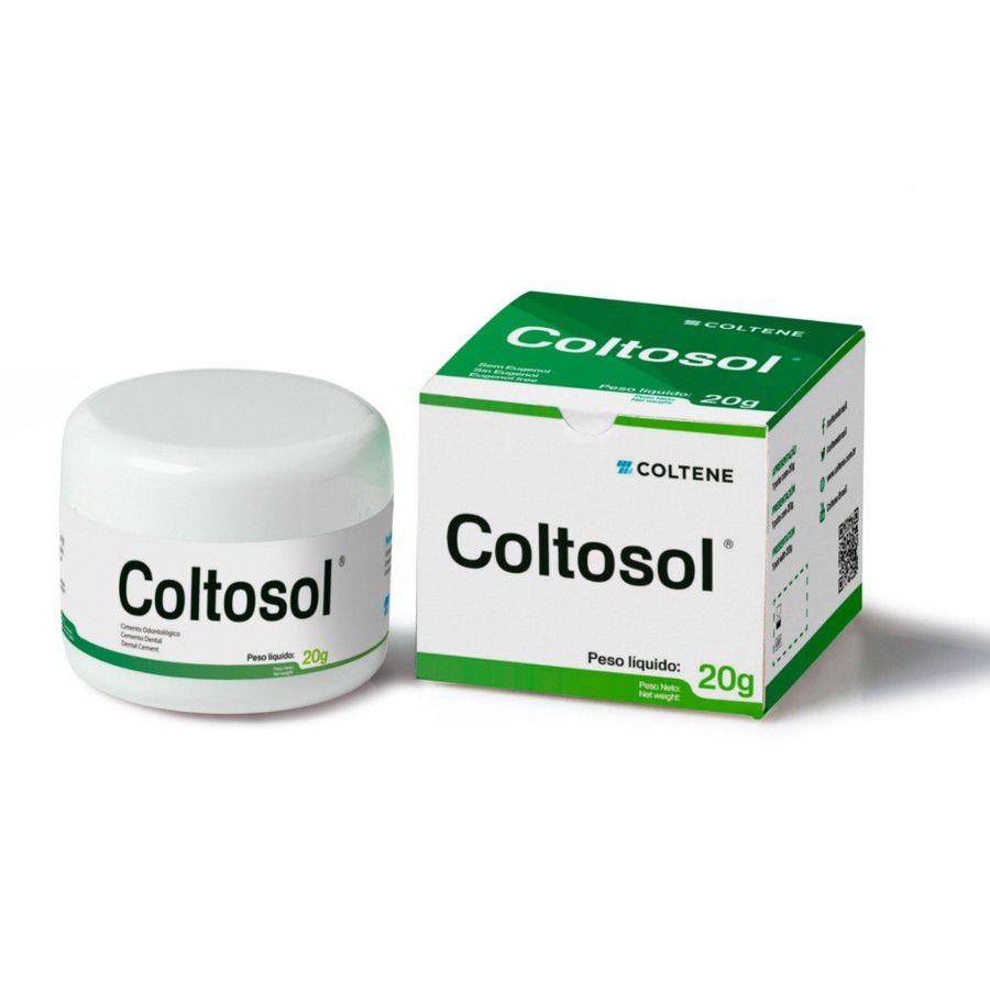 Obturador Provisorio Coltosol (20G) - Coltene  -  Dental Paiva