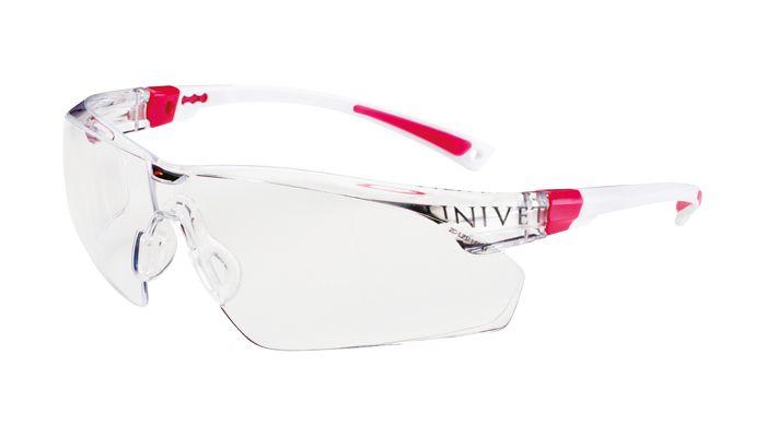 Óculos de Proteção Importado  (Rosa) - Univet  -  Dental Paiva