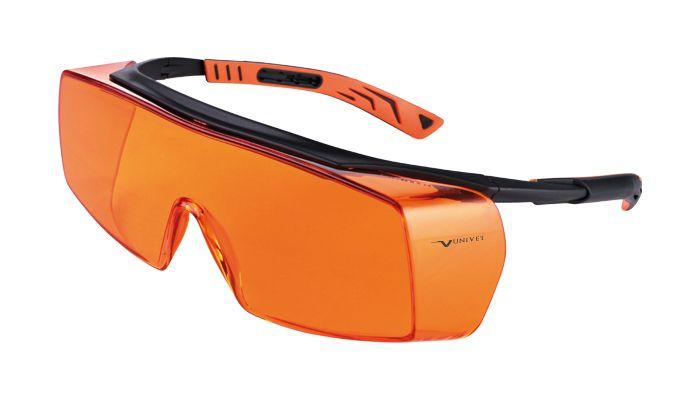 Óculos de Proteção Para Clareamento Importado (525 nm) - Univet  -  Dental Paiva