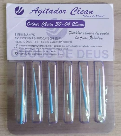 Odous Clean Agitador (C/6 Unidades) - Odous  -  Dental Paiva