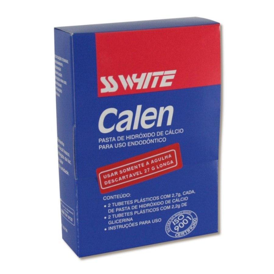Pasta de Hidróxido de Cálcio Calen - SS White  -  Dental Paiva