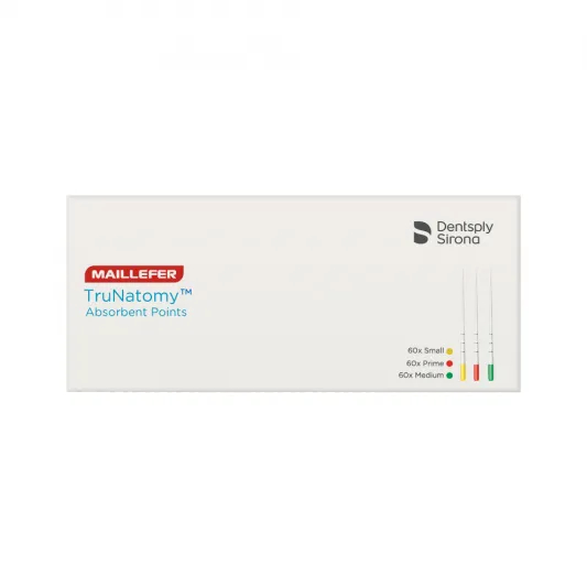 Ponta de Papel TruNatomy - Maillefer  -  Dental Paiva