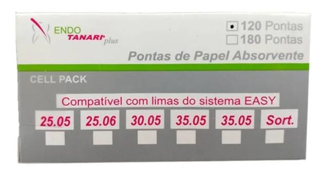 Ponta de Papel Cell Pack Easy (Pro-E) - Tanari  - Dental Paiva