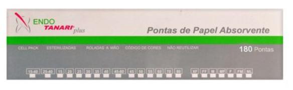 Ponta de Papel Cell Pack Pro 06 - Tanari  -  Dental Paiva