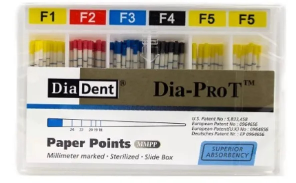 Ponta de Papel Dia-Pro T - Diadent  -  Dental Paiva