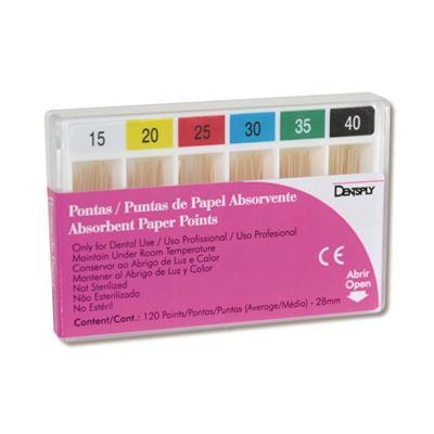 Ponta de Papel Maillefer - Dentsply  -  Dental Paiva