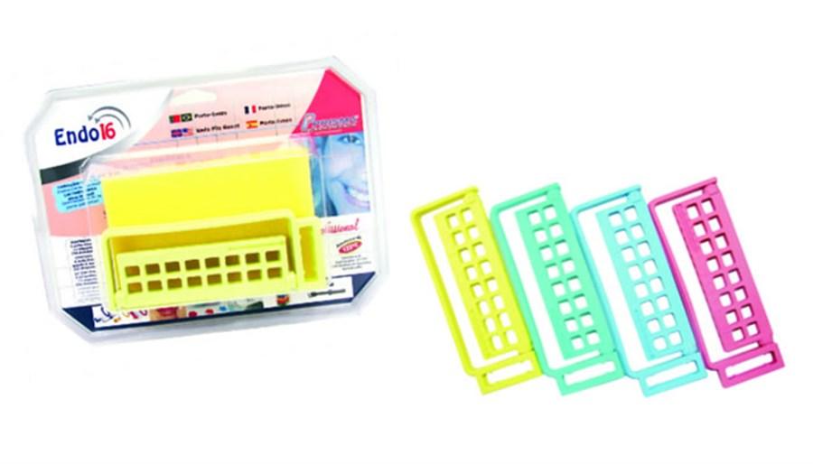 Porta Lima Endo 16 Plástico - Prisma  -  Dental Paiva